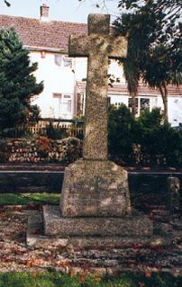 Bickleigh War Memorial Cross